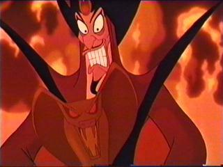 Jafar into a giant snake - Serpent aladin ...